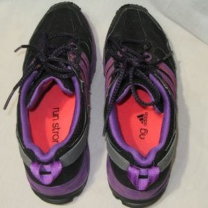 adidas Shoes - Adidas Kanadia TR5 Women Black Purple Trail sz 10